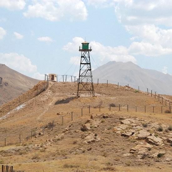 Road to Nakhchivan City - Iranian Border