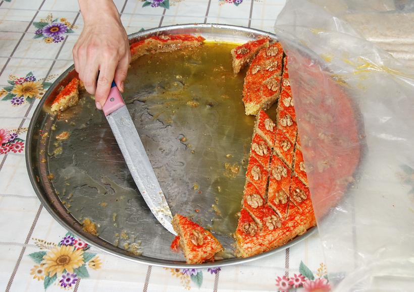 Azeri Food - Quban Pakhlava