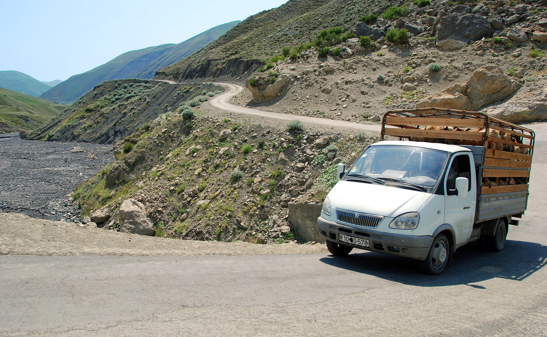 Azerbaijan - Road to Xinaliq