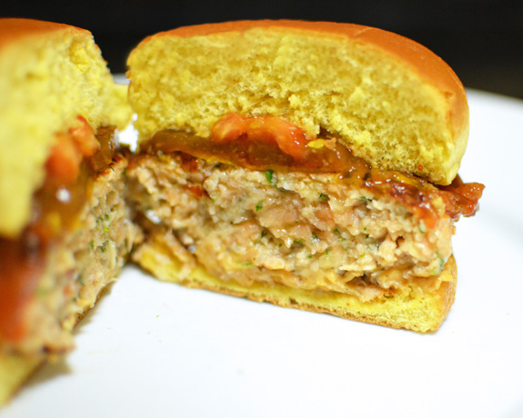 Russian Cuisine - Salmon Burger