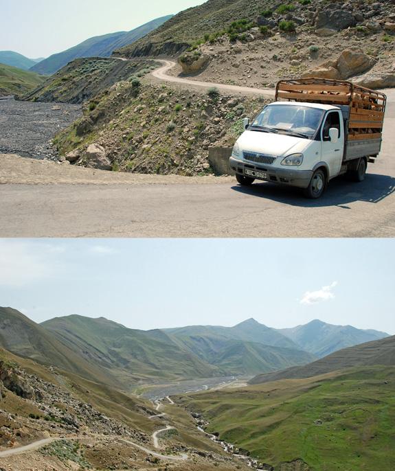 Azerbaijan Travel - Road to Xinaliq