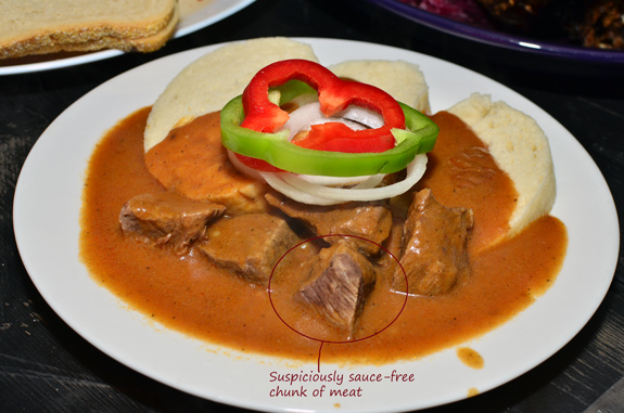 Czech Cuisine - Bohemian Hall - Beef Goulash