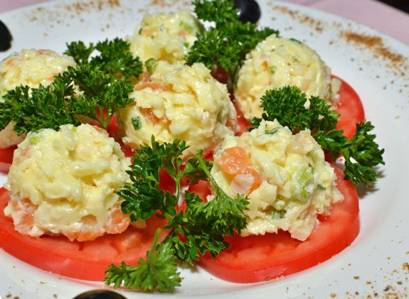 Russian Cuisine - Caspiy - Barskaya Appetizer