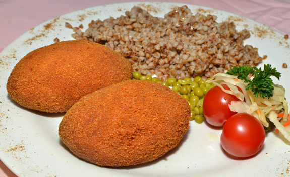 Russian Cuisine - Caspiy - Stuffed Veal