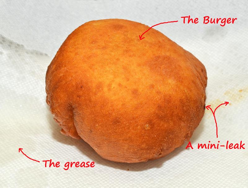 Hungarian Food - Lángos Goulash Burger