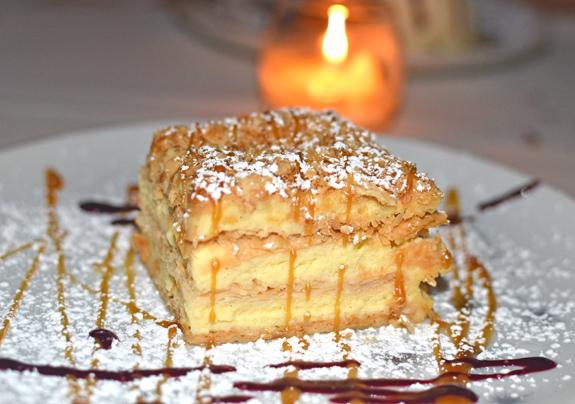 Georgian Cuisine - Pepela - Napoleon