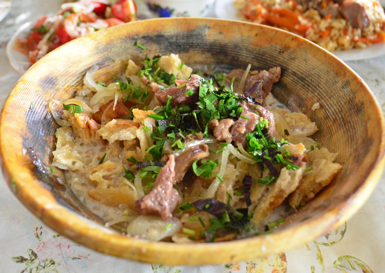 Dushanbe - Shaftoluzor Restaurant - Qurtob