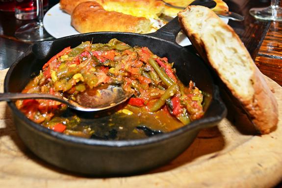 Georgian Cuisine - Oda House - Lobio