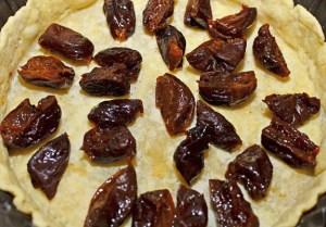Prune and Chocolate Custard Tart