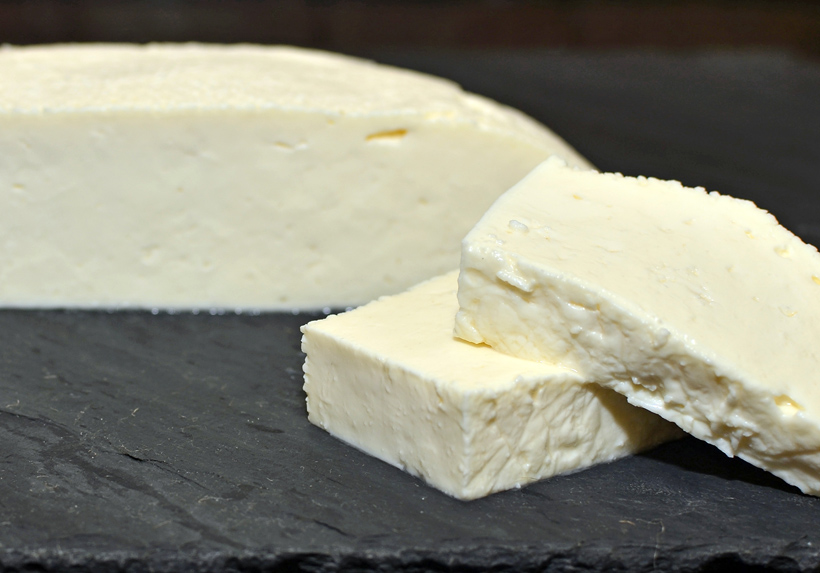 Georgian Food - Imeretian Cheese