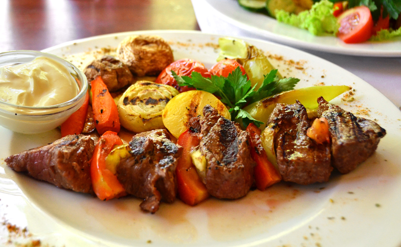 Moldovan Food - Restaurant on Stefan cel Mare Blvd - Kebab