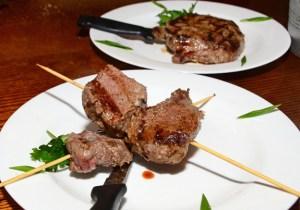 Restaurant Orasul Vechi - Veal Shashlyk and Steak