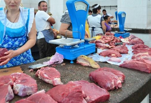 Chișinău Central Market - Meat