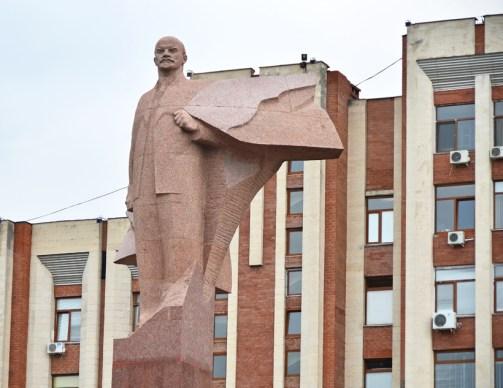 Transnistria - Tiraspol - Lenin Statue