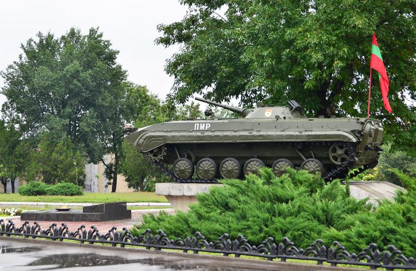 Transnistria - Bendery - Memorial Park