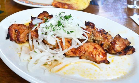 Uzbek Cuisine - Kebeer - Chicken Kebab