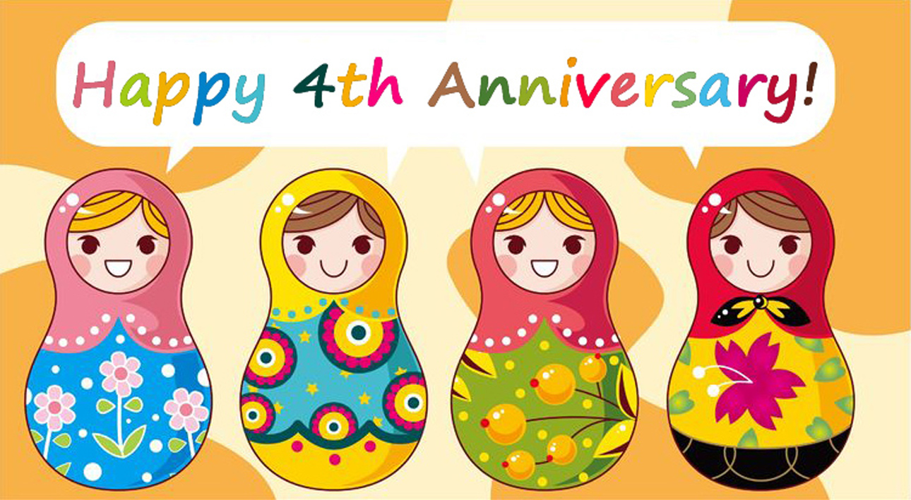 Food Perestroika's Fourth Anniversary