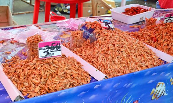 Privoz Market - Shrimp