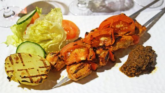 Resto Ukraine - Chicken Shashlyk