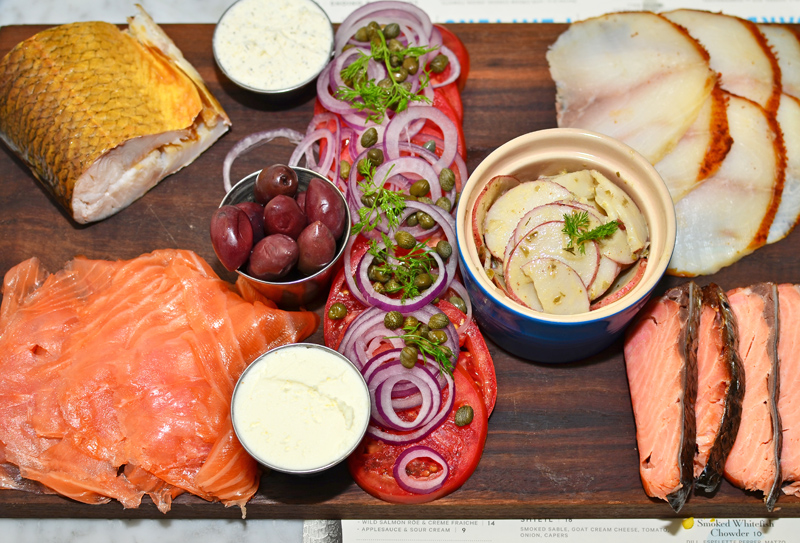 Russ & Daughters Café - Hattie Platter