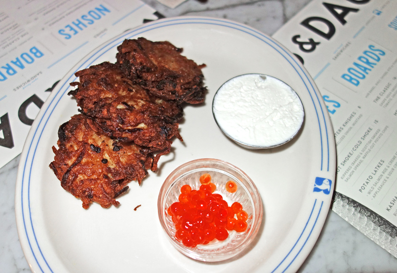 Russ & Daughters Café - Latkes