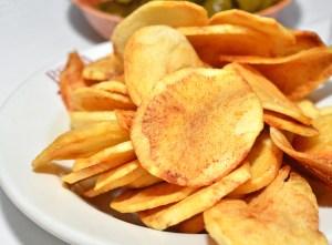 Sammy's Roumanian Steakhouse - Fried Potatoes