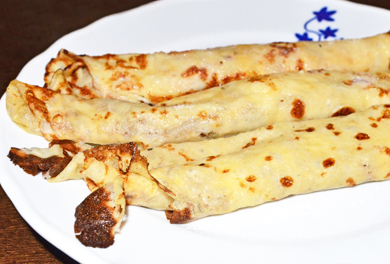 Prague - Mala Strana - Lokál - Crepes