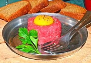 Prague - Plzeňská Restaurace - Beef Tartare