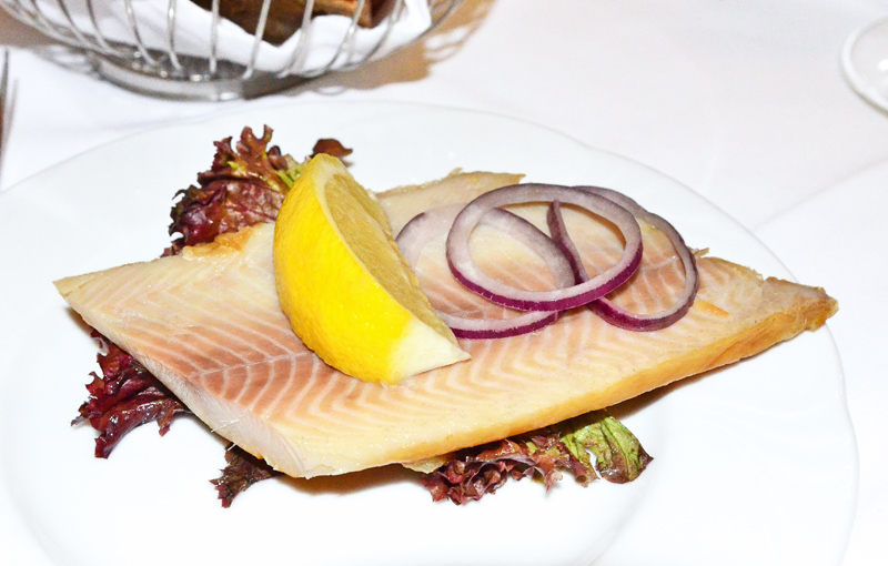 Hotel Embassy - Smoked Fillet of Trout