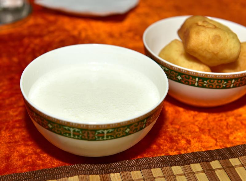 Shubat at Restaurant Zheti Kazyna, Almaty