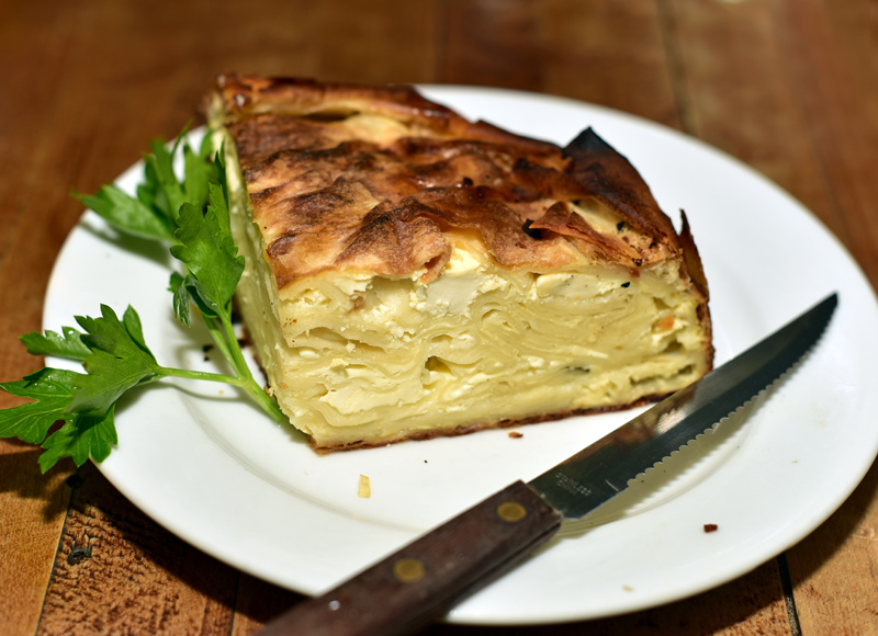 East Village - Kafana - Cheese Pie
