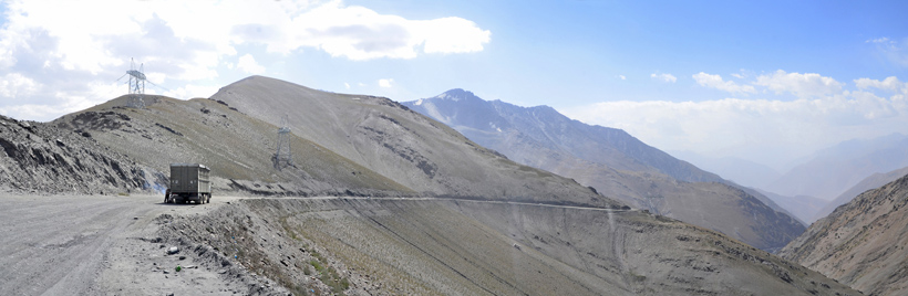 Road to Dushanbe - Shakhristan Pass