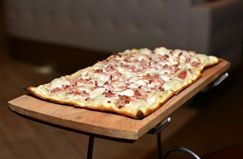 Midtown West - Gabriel Kreuther - Bacon Tarte Flambée