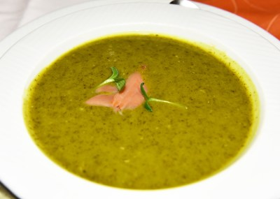 Mikulov - Templ Restaurant - Ramp Cream Soup