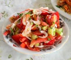Dushanbe - Shaftoluzor Restaurant - Salad