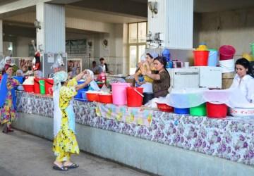 Dushanbe - Shah Mansur Bazaar - Dairy
