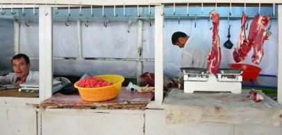 Dushanbe - Shah Mansur Bazaar - Meat