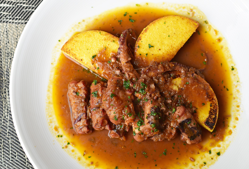 New Rochelle - Dubrovnik Restaurant - Octopus Stew