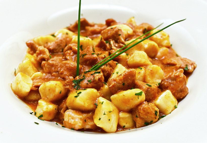 New Rochelle - Dubrovnik Restaurant - Gnocchi with Veal Ragu