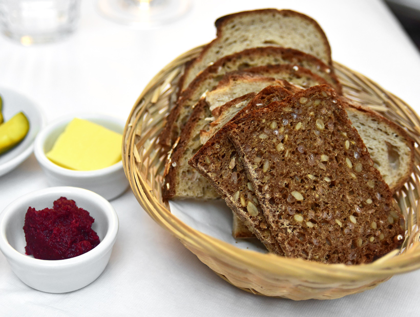 London - Baltic Restaurant - Bread