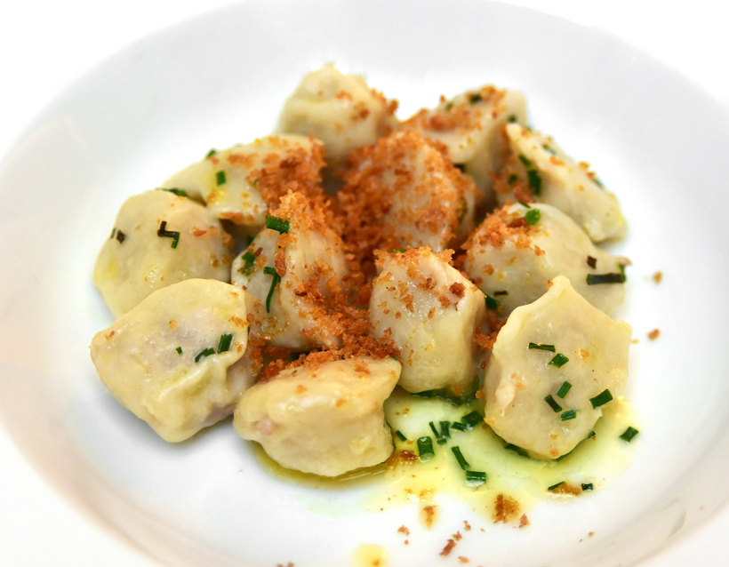 London - Baltic Restaurant - Pelmeni