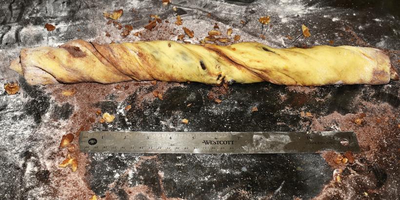 Jewish Food - Chocolate Babka - Butter Streusel
