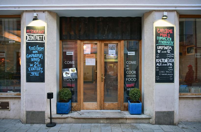 Bratislava - Kontakt Restaurant