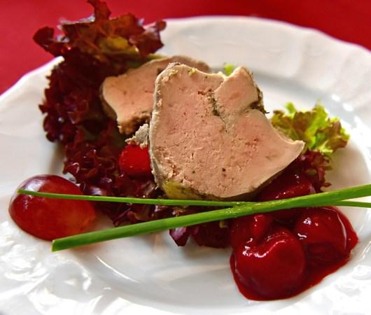 Czech Republic - Olomouc - Moravská Restaurant - Foie Gras