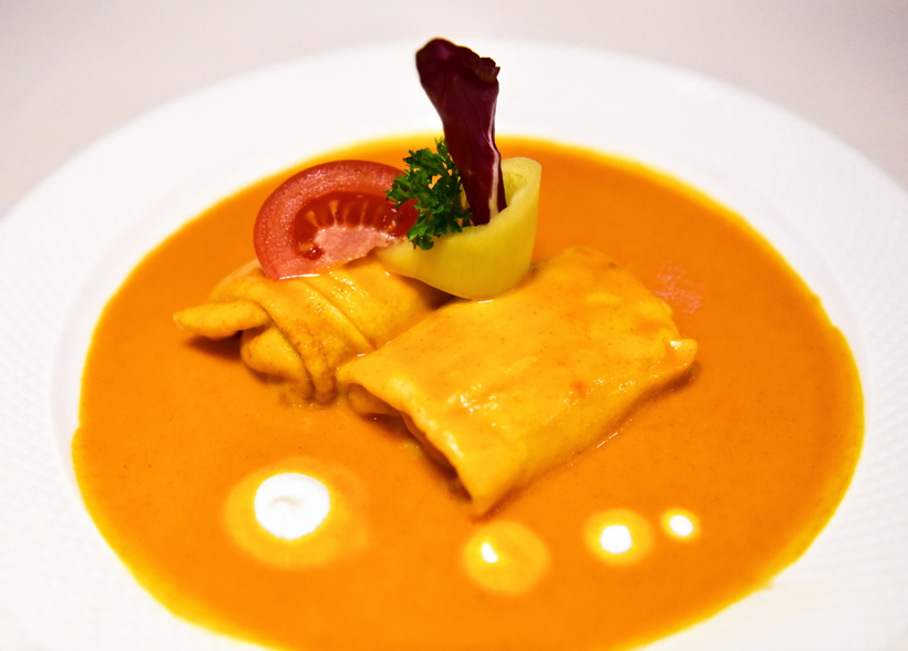 Sopron - Erhardt Restaurant - Hortobagy Pancakes