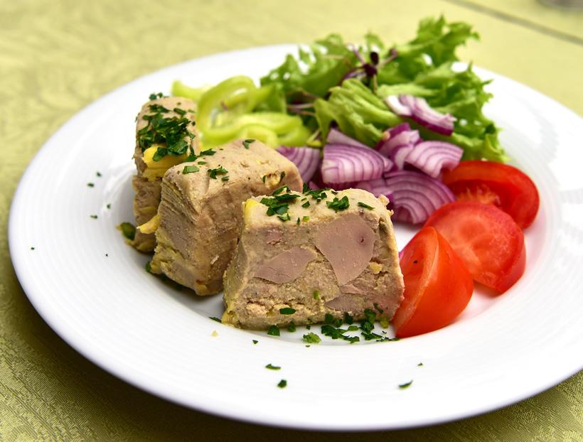 Hegykő - Tornácos Restaurant - Foie Gras Terrine