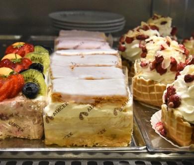Croatia - Vincek Pastry Shop - Bečka Kremšnita
