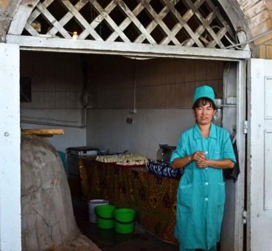 Tashkent - Making Samsas