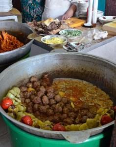 Tashkent - National Food Restaurant - Kefta and Dolma