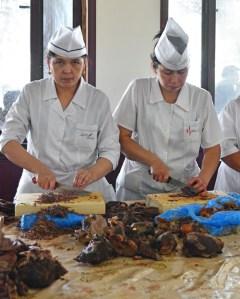 Tashkent - National Food Restaurant - Making Naryn